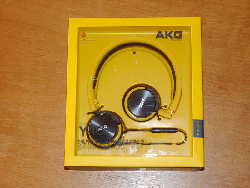 P: Slúchadlá AKG Y40